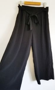 Zara Trafaluc culottes with tie belt